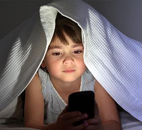 O uso de Celular antes de Dormir